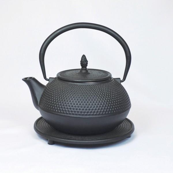 Basic 1.2l Teekanne Gusseisen schwarzton