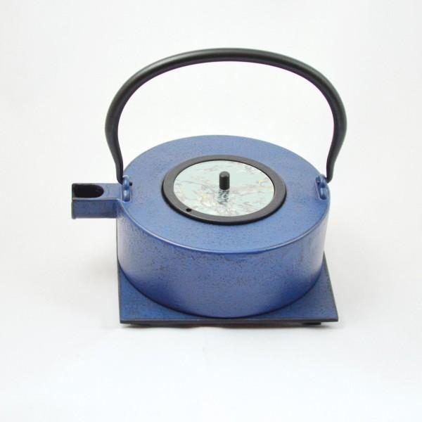 Heii Na 0.8l Teekanne Gusseisen blau
