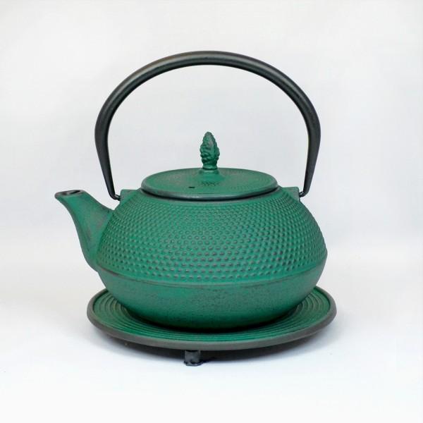 Basic 1.2l Teekanne Gusseisen gruenton